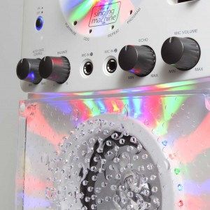 Singing Machine SML-385W- control panel
