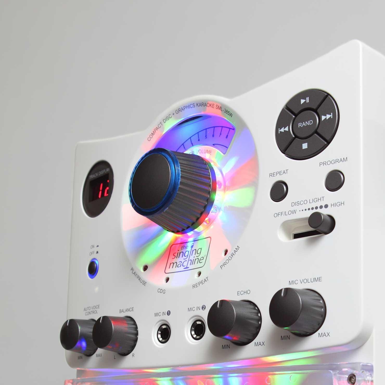 sml 385 singing machine