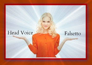 Head voice vs falsetto