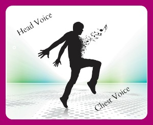 Head voice cs chest voice