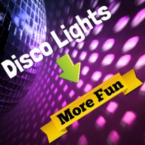 Karaoke Machine Disco Lights