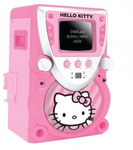 Karaoke machine for girls