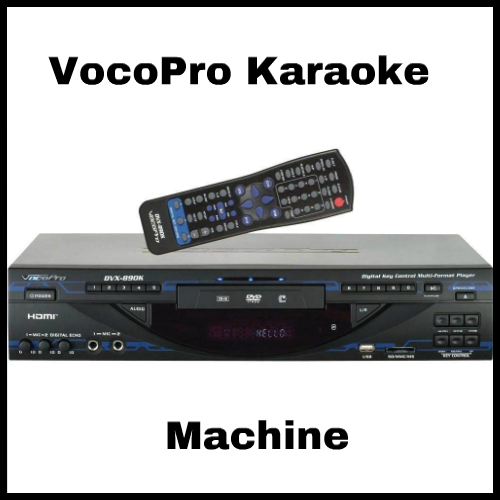 VocoPro DVX890K Karaoke Player Review • Singing Tips and
