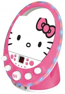 Disco Themed Hello Kitty Karaoke Machine