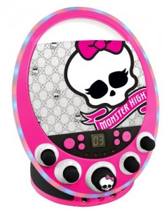 Disco Themed Monster High Karaoke Machine