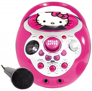 Mini Hello Kitty Karaoke Machine