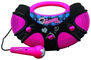Portable Monster High Karaoke Machine