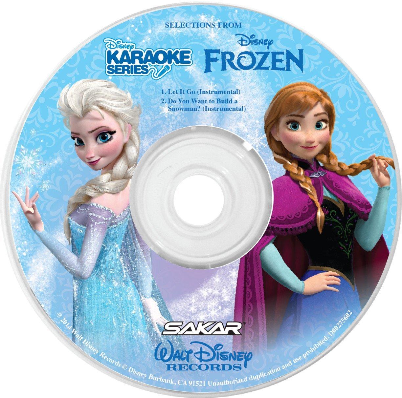 frozen karaoke machine cd
