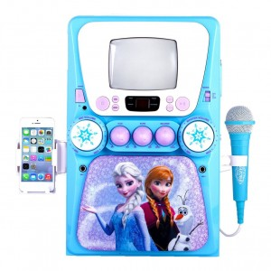 Frozen karaoke with iPod
